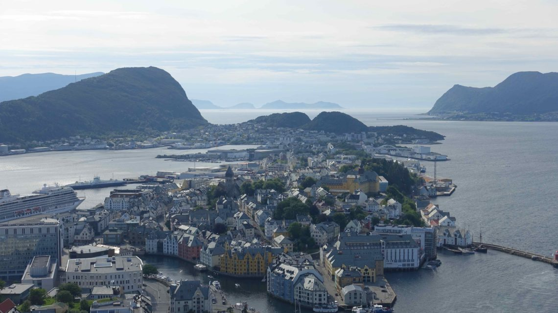 Geiranger, Ålesund et Trondheim